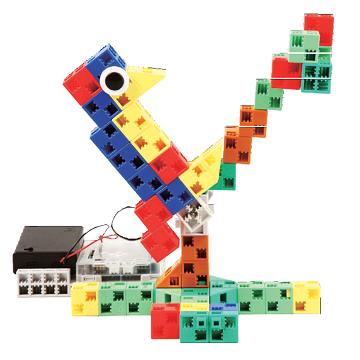 un oiseau robotisé
