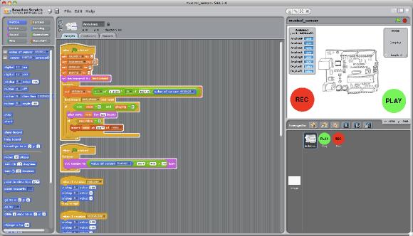 SA4 (Scratch pour Arduino)