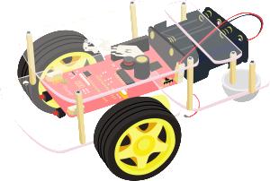 Robot avec carte Rasberry-pi