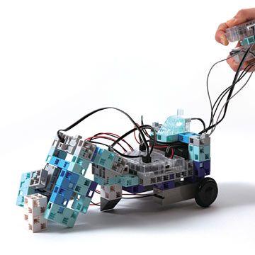une grue robot